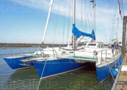 Custom built sailing trimaran Cross 46