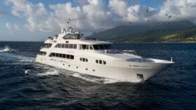 Richmond Yachts Tri-Deck Superyacht