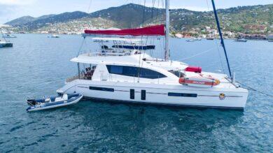Leopard 58 Catamaran