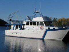 Steel Fishing Charter Trawler